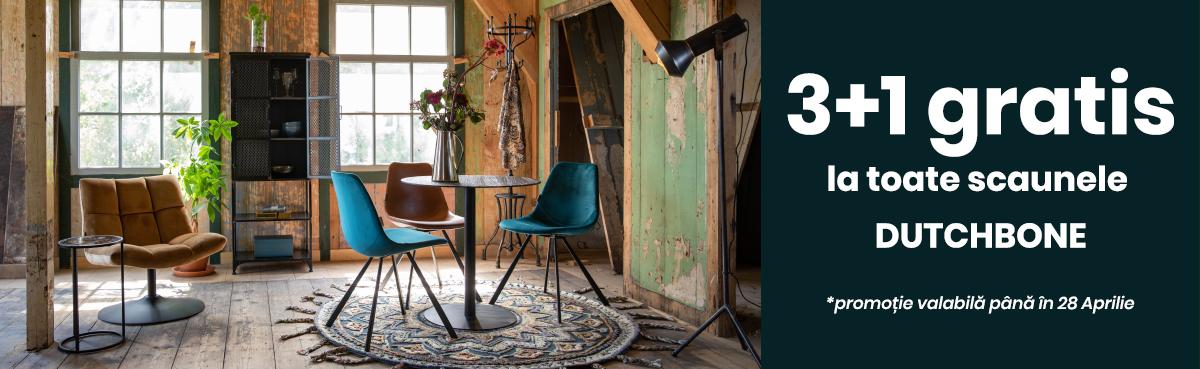 scaune 3+1 dutchbone