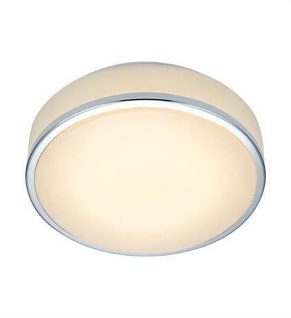 GRETA 22cm Led Chrome/White Aplica tavan