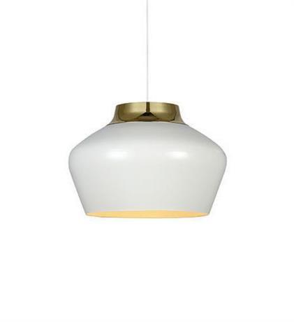 KAAPO Pendant 1L White/Brass Lampa suspendata