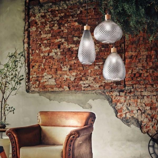 Lampă suspendată BERGEN Ø 16 cm