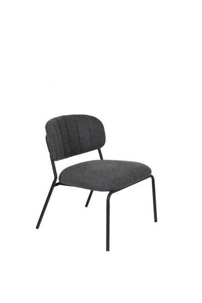 Scaun lounge JOLIEN SLIM BLACK