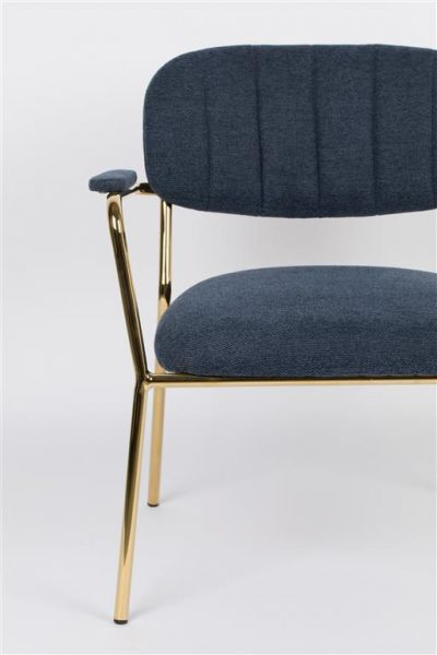 Scaun lounge JOLIEN ARM GOLD