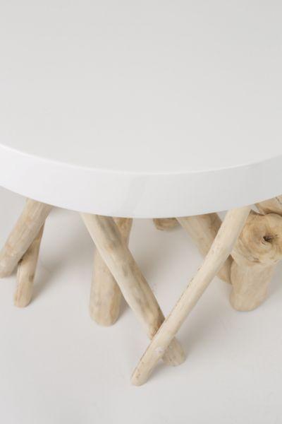 MASUTA CUMI GLOSSY WHITE 45 cm