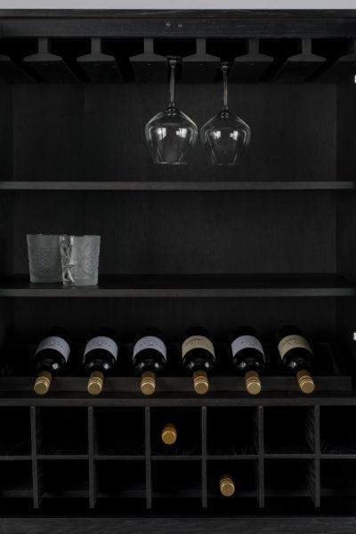 Cabinet TRAVIS BLACK OAK