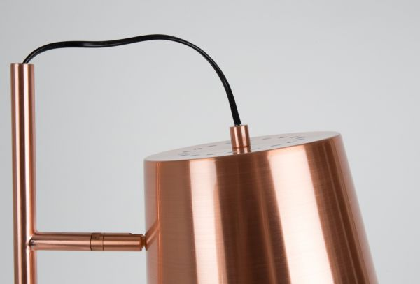 BUCKLE HEAD COPPER Lampa stativa