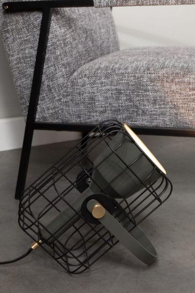 Lampă de masă CAGE BLACK