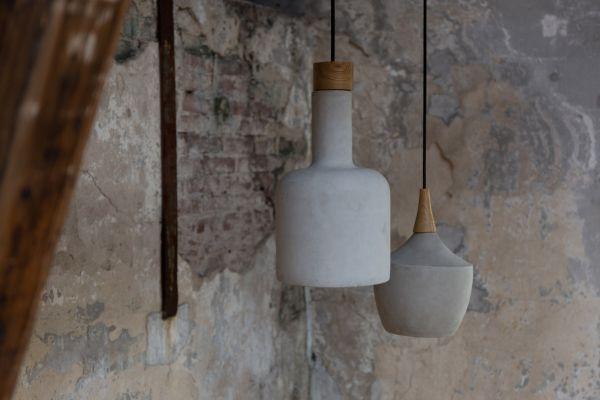 CRADLE BOTTLE Lampă suspendată