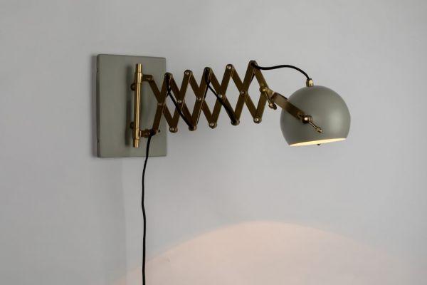Lampă de perete SARANA GREY