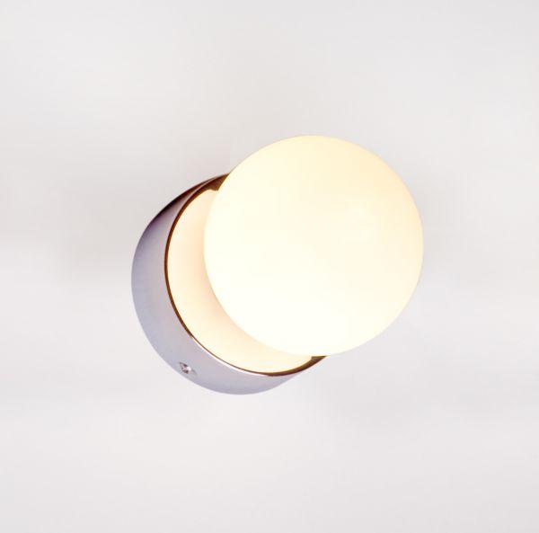 BRAZOS 1L Lampă de perete de baie