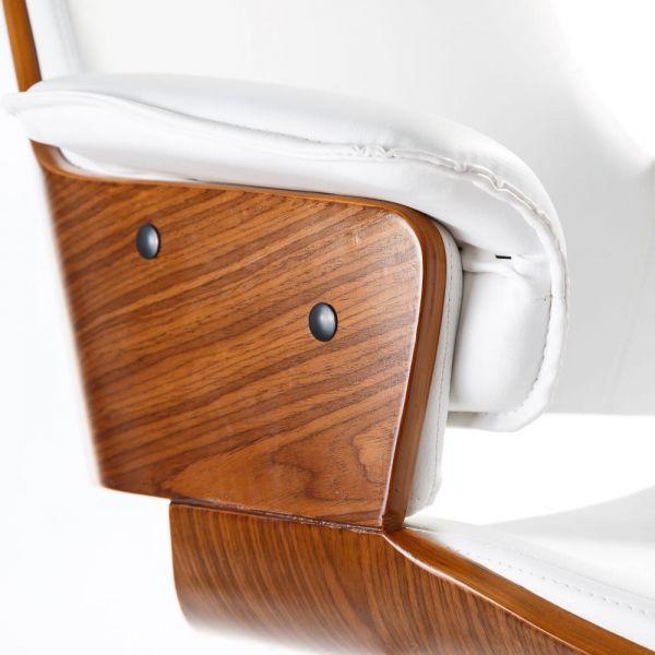 Scaun de birou PELLA WHITE