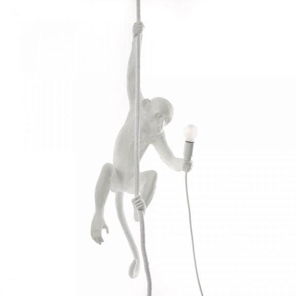Lampă suspendată exterior MONKEY CEILING WHITE