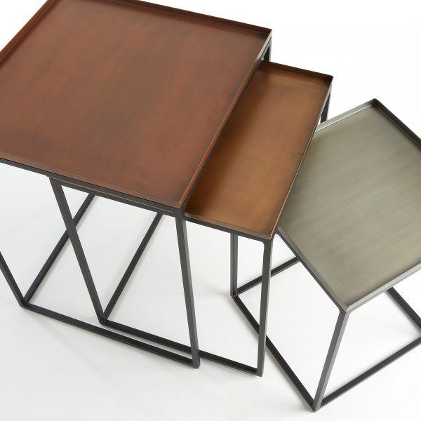 SET MASUTE VERLIN F Metal Zinc Copper and Brass