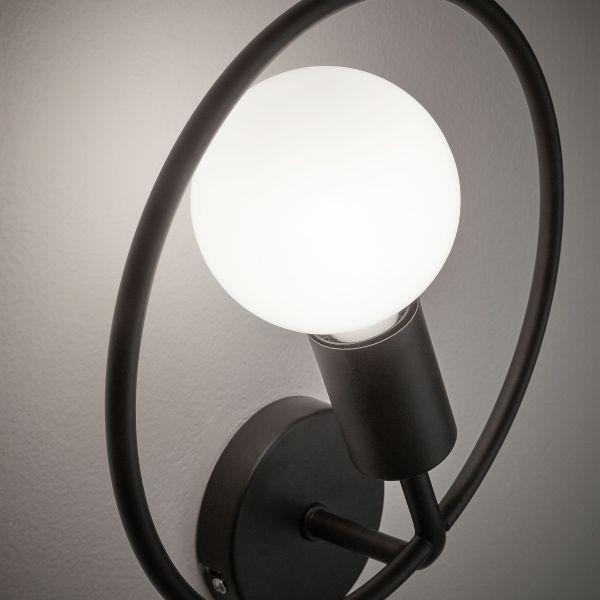 Lampa de perete HOR BLACK
