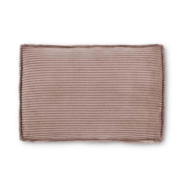 Pernă canapea BLOSS VELVET PINK 50 x 70 cm