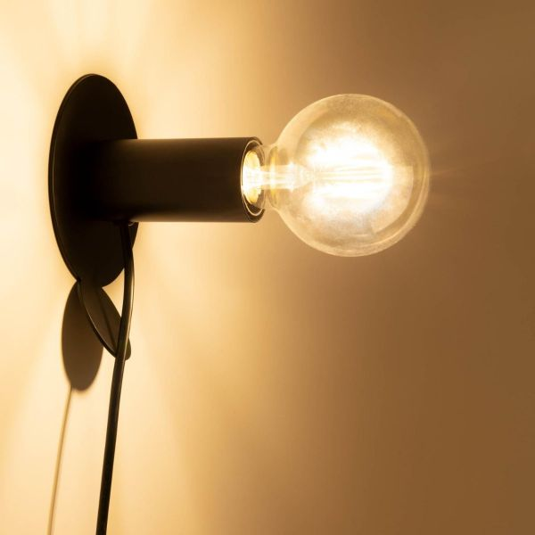 Lampa de perete DANIZ BLACK