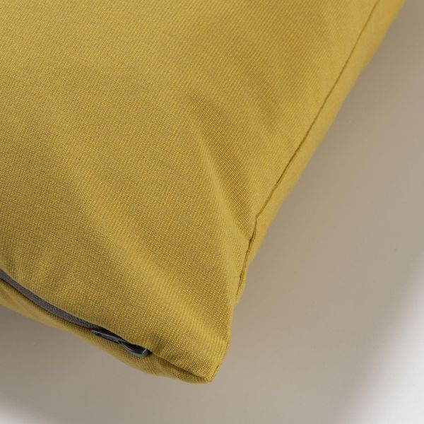 Husa de perna EDRA MUSTARD 30 x 50 cm