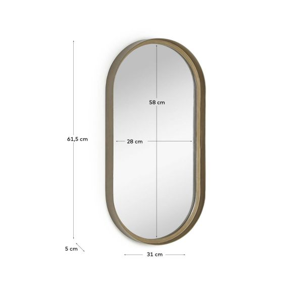 Oglinda perete TIAR 31X61CM