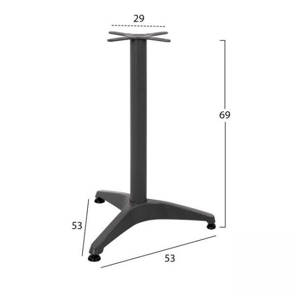 Picior masa ASTOR pentru masa 60 cm