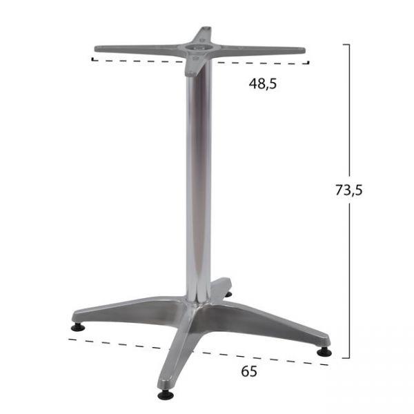 Picior masa STEFI pentru blat 60 / 70 cm