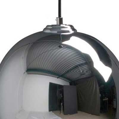 BIG GLOW CHROME Lampa suspendata