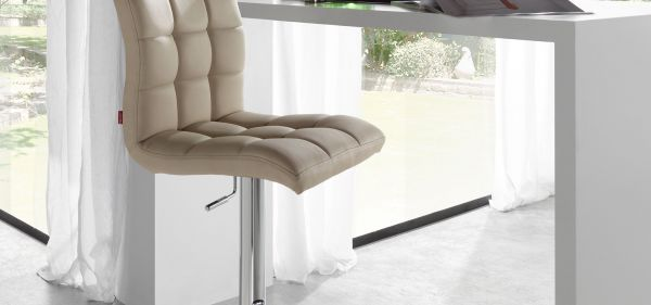 SCAUN BAR LEIDOLF WHITE