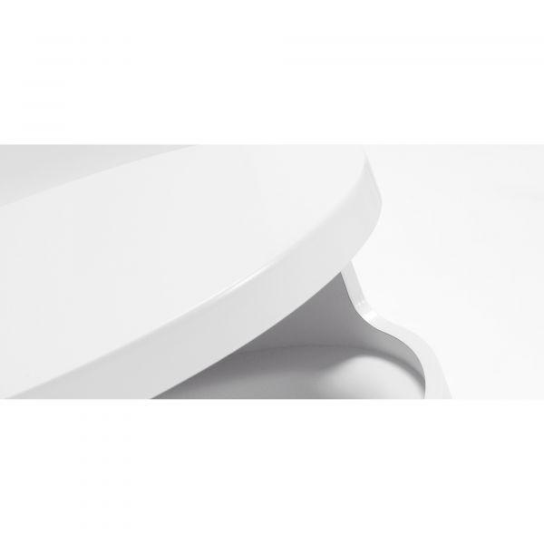 MASUTA DE CAFEA BACH WHITE Ø40 cm