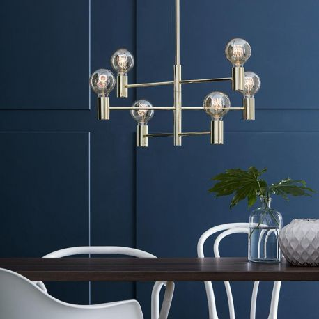 CALLAN Pendant 6L Brass Lampa suspendata