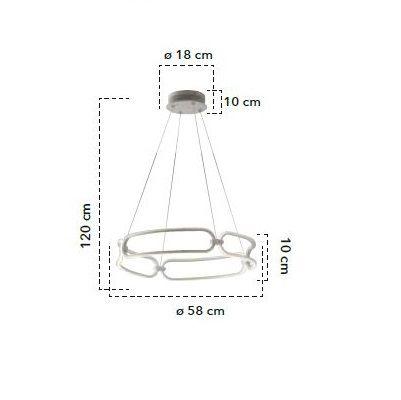 Lampă suspendată FINITY-S60