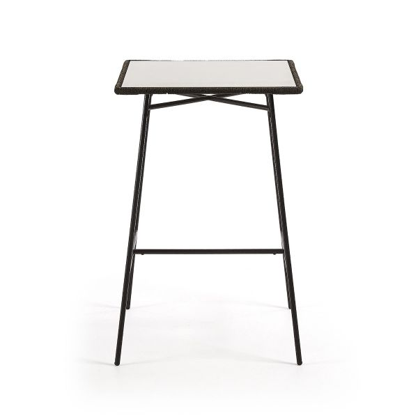 Masă de bar FRIMA GREY 70x70 cm