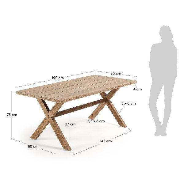Masă BRILL 90X190 cm