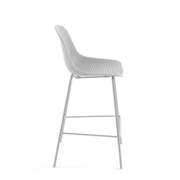 Scaun de bar UNIMA WHITE 75 cm