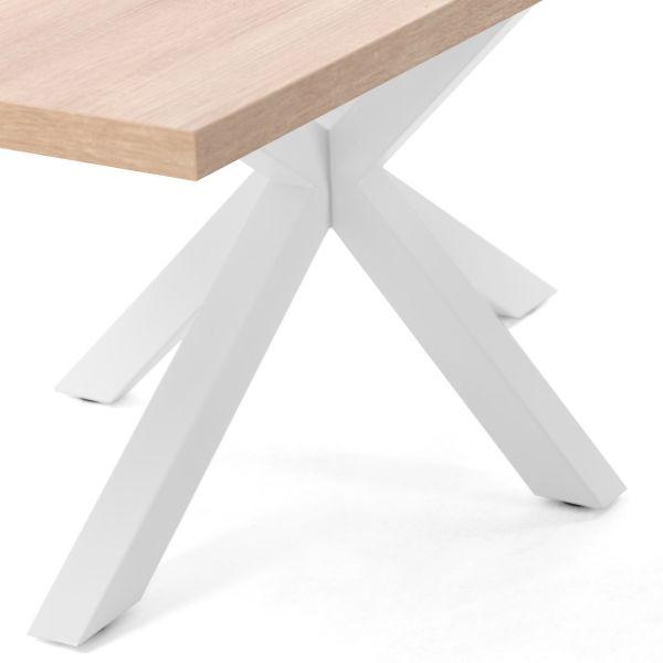 Masa ELLE White Natural Sonoma 160 / 180 / 200 x 100 cm