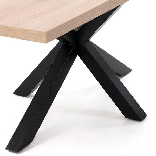 Masa ELLE Black Natural Sonoma 160 / 180 / 200x100 cm