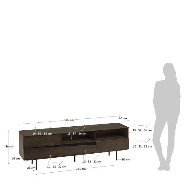 Comoda TV DORIS 180 x 56 cm