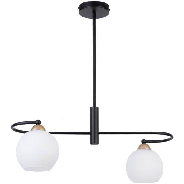 Lampă suspendată REA 2L BLACK