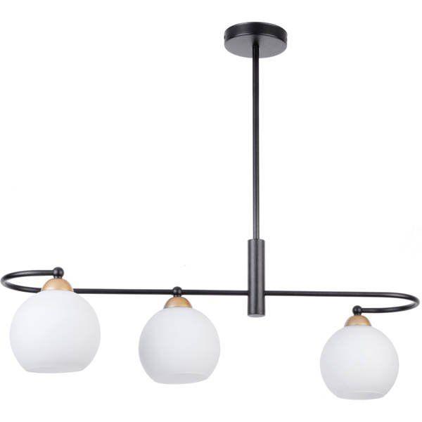 Lampă suspendată REA 3L BLACK