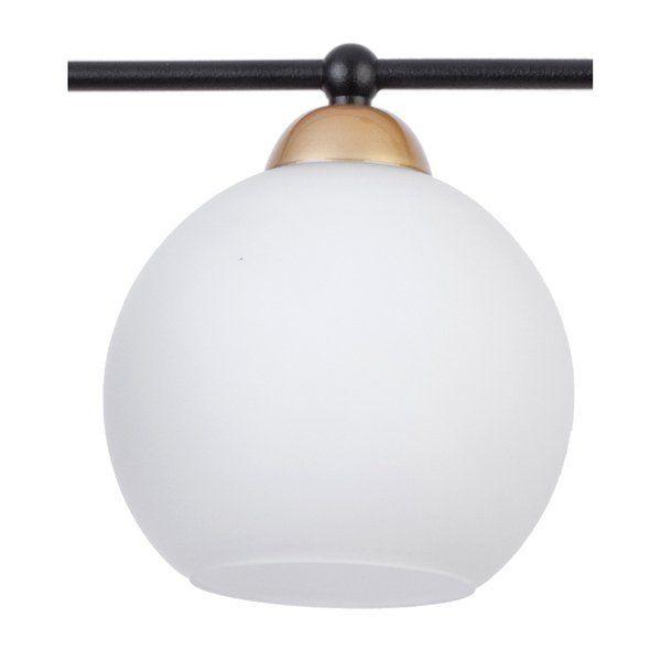 Lampă suspendată REA 4L BLACK