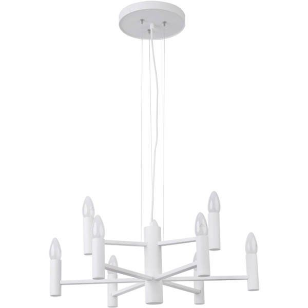 Lampă suspendată FOKUS 9L WHITE