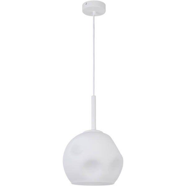 Lampă suspendată COMO WHITE 90 cm