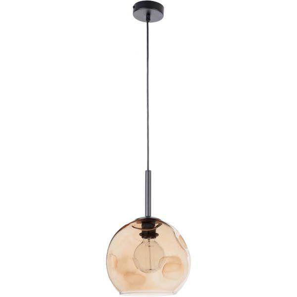 Lampă suspendată COMO AMBER 90 cm