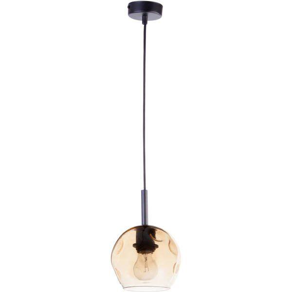 Lampă suspendată COMO AMBER 85 cm