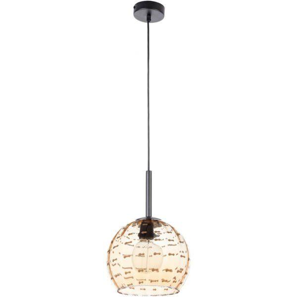 Lampă suspendată COMO 3 AMBER 90 cm
