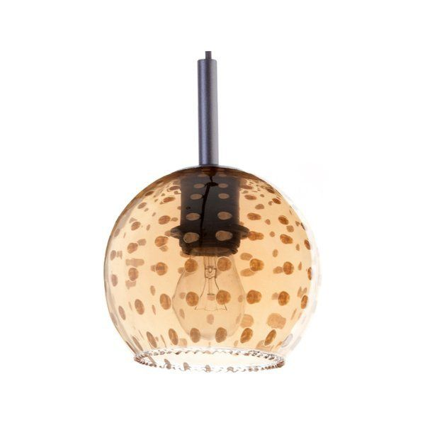 Lampă suspendată COMO 3 AMBER 85 cm