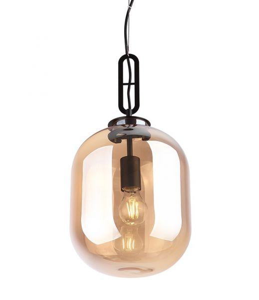 Lampă suspendată AMBRA BROWN