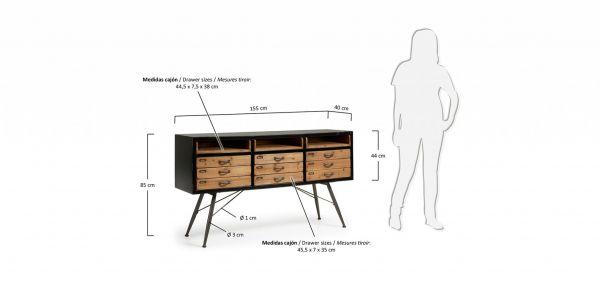 ARMY Cabinet 155x85 CM