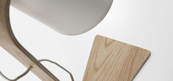 ERYC WHITE Lampă de masă