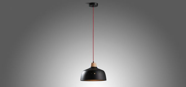 SKANGAARD BLACK Lampa suspendata