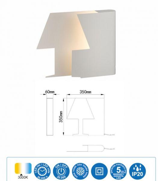 Lampă de masă LIBRA 35