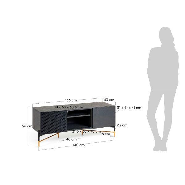 Comodă TV CLENOVY 141x60 cm