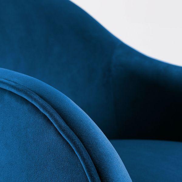 Fotoliu LADONNA VELVET Dark blue